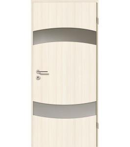 Holztüren - Türblatt - Coco Bolo Weiß mit Lichtband 2304-2LB