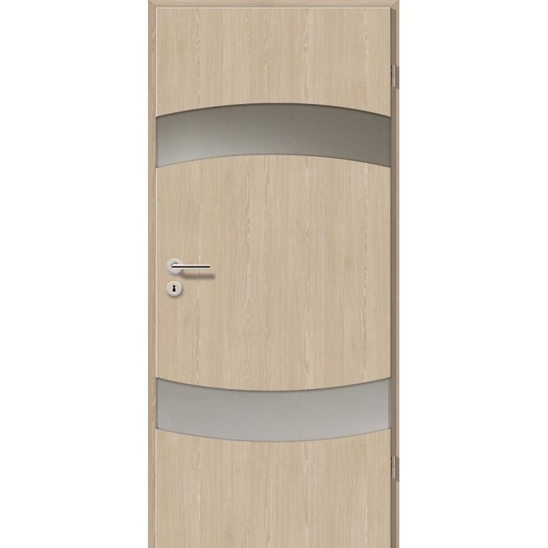 Holztüren - Türblatt - Platineiche mit Lichtband 2304-2LB