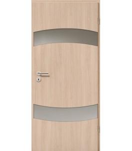 Holztüren - Türblatt - Eiche Sicilia mit Lichtband 2304-2LB