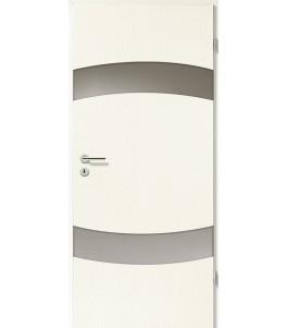 Türblatt - Esche Weiß mit Lichtband 2304-2LB