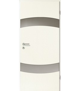 Holztüren - Türblatt - Esche Weiß mit Lichtband 2304-2LB