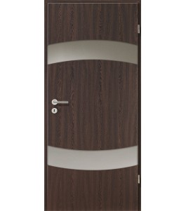 Holztüren - Türblatt - Wenge mit Lichtband 2304-2LB