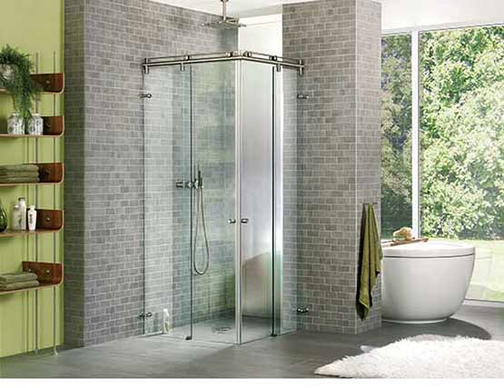 Duschwand glas zum top preis in wunschgr en glas centro gmbh - Duschwand reinigen ...
