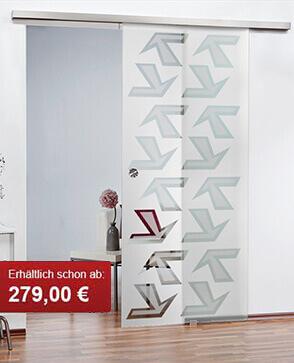Glasschiebetüren einfach online und günstig kaufen - Glas Centro GmbH